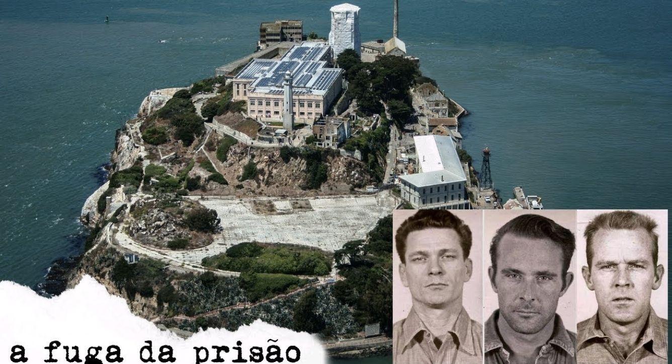 fugitivos da prisão de Alcatraz